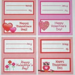 Free Printable Valentine's Day Treat Bag Topper