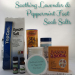 Soothing Lavender & Peppermint Foot Soak Salts