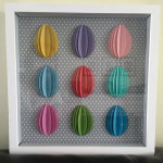 3D Easter Egg Shadowbox