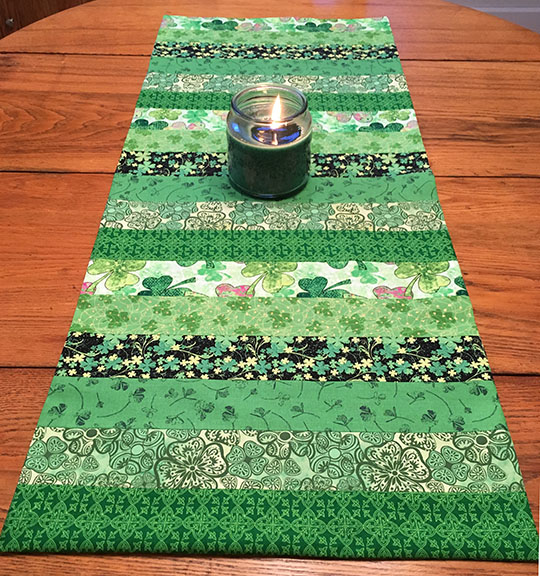 Simple Table Runner Tutorial