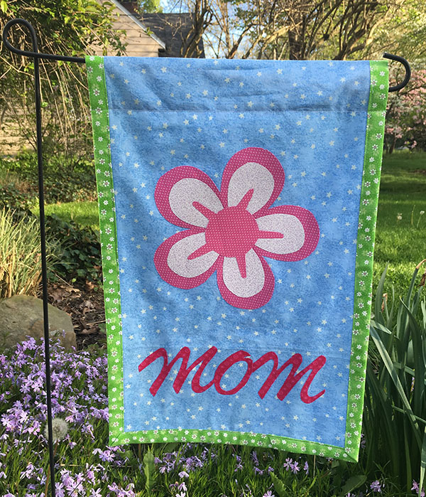 Mothers Day Garden Flag Tutorial