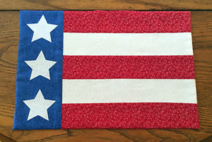 Stars and Stripes Placemat Tutorial