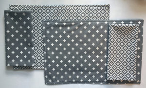 Reversible Placemats & Matching Napkins