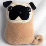 Fun Weekend Sewing: A Little Pair o' Pugs