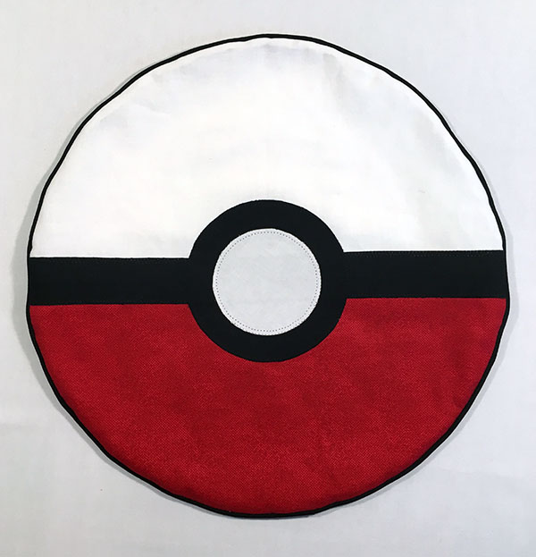 Pokemon Pokeball Pillow Tutorial