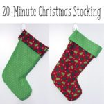 20-Minute Christmas Stocking