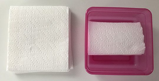 All Natural Facial Cleansing Wipes with Essential Oils