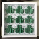 3D Shamrock Shadowbox for St. Patrick's Day