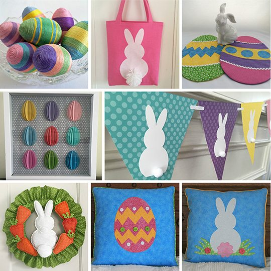 Easter sewing & craft project tutorials