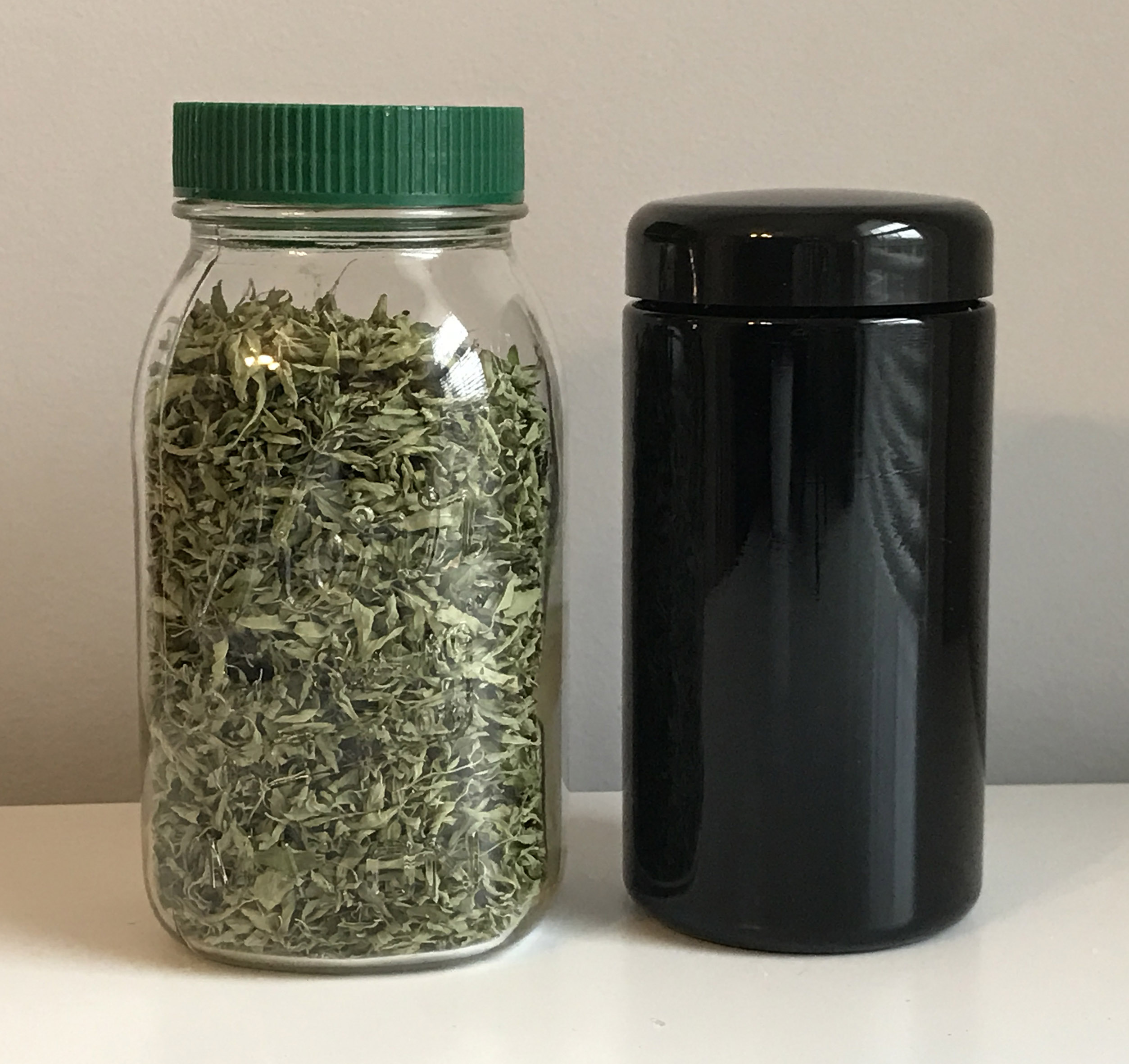 Storing Dried Herbs and Essential Oil Remedies