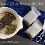 Easy Rice and Herb Microwave Heat Bag