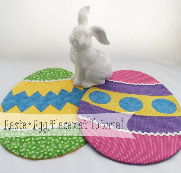DIY Easter Decorations - Easter Egg Placemat Tutorial