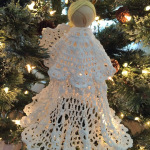 Tutorial: Starched Doily Christmas Angel