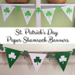 St. Patrick's Day Shamrock Banners