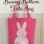 Bunny Bottom Tote Bag Tutorial