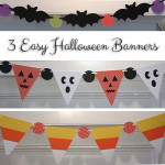 Three Easy Halloween Banners