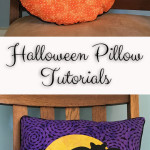 Batty Halloween Pillow