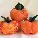 Scrappy Patchwork Pumpkins