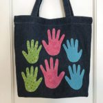 Handprint Tote for Mom