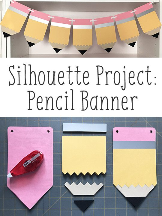 Paper Pencil Back-to-School Banner