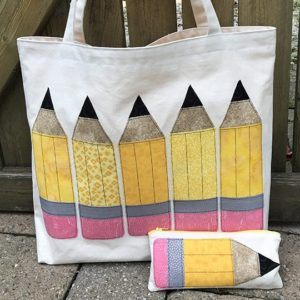Pencil Me In Tote Bag Pattern