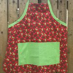 Christmas Sewing – Reversible Apron