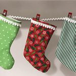 Mini Christmas Stocking/Gift Card Holder