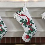 Vintage Tablecloth Christmas Stockings
