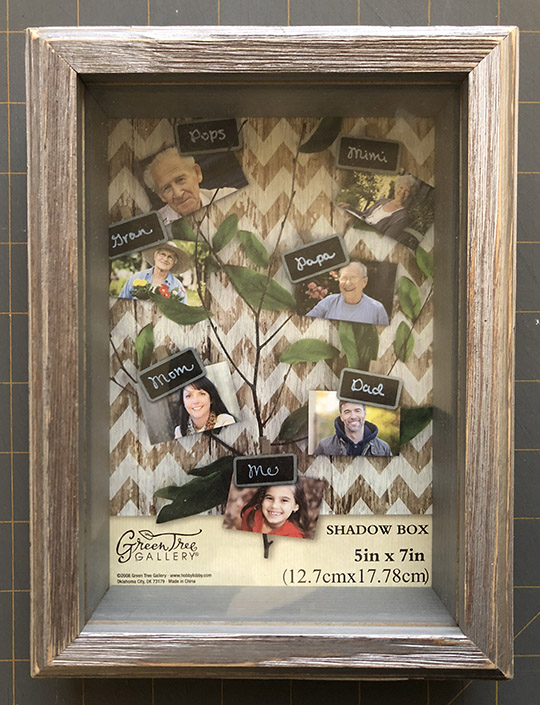 But First, Coffee Shadowbox