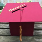 Graduation Party Planning: DIY Mortarboard Card Box