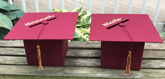 Graduation Party Planning Diy Mortarboard Card Box Clever Little