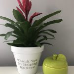 """Thank You for Helping Me Grow"" Teacher Gift"