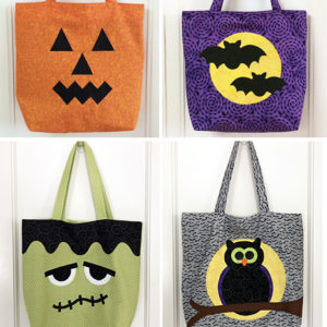 Trick or Treat Tote Bags Pattern