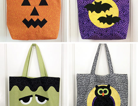 Trick or Treat Tote Bag Pattern